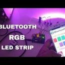RGB Led Strip Control Via Bluetooth Using Arduino (Android Application)