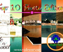 Top 10 Quality Photo Editor app for Android