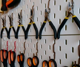 Make Your Own Ikea SKADIS Hooks
