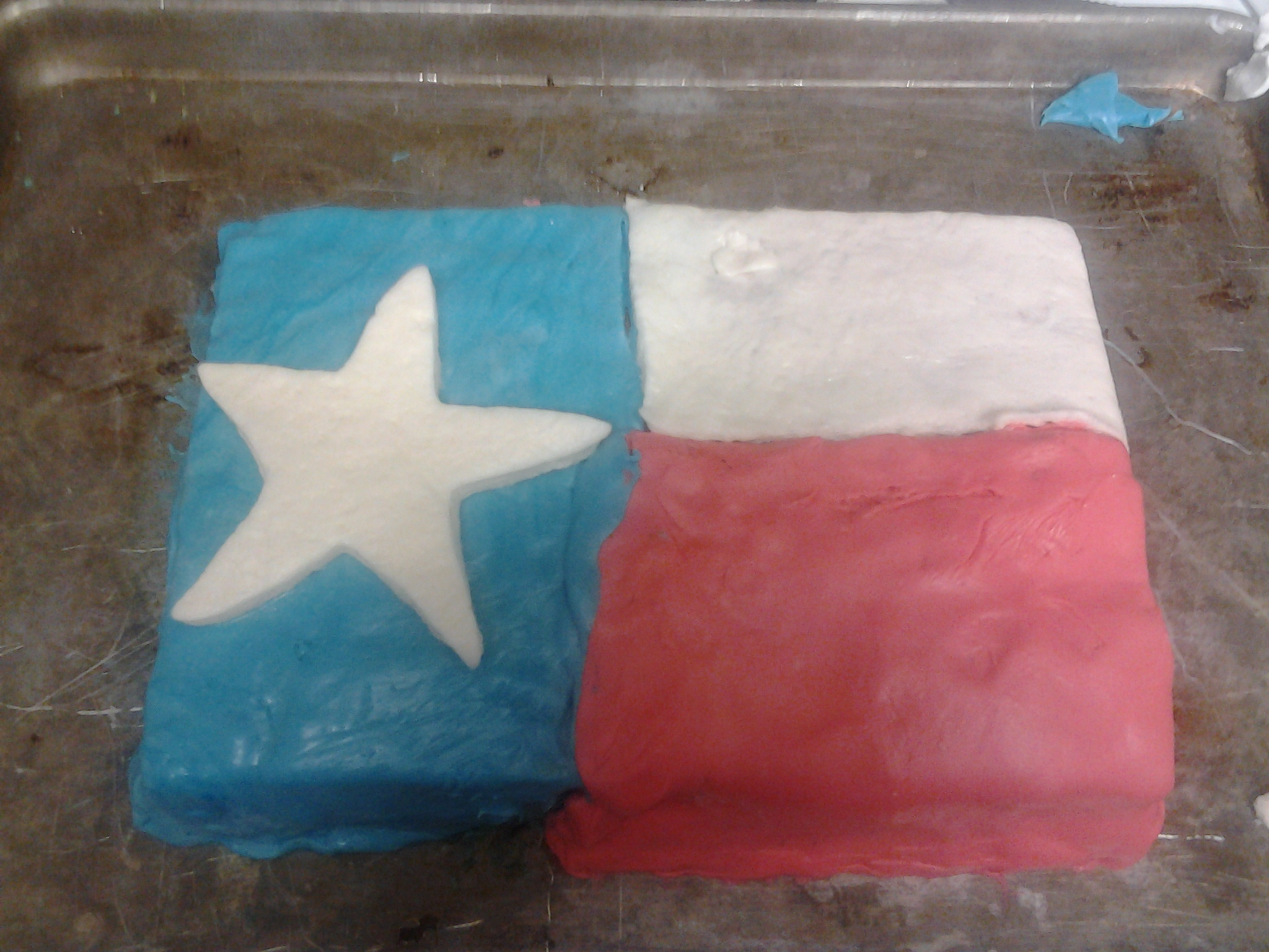 Picture of State Flag Cake