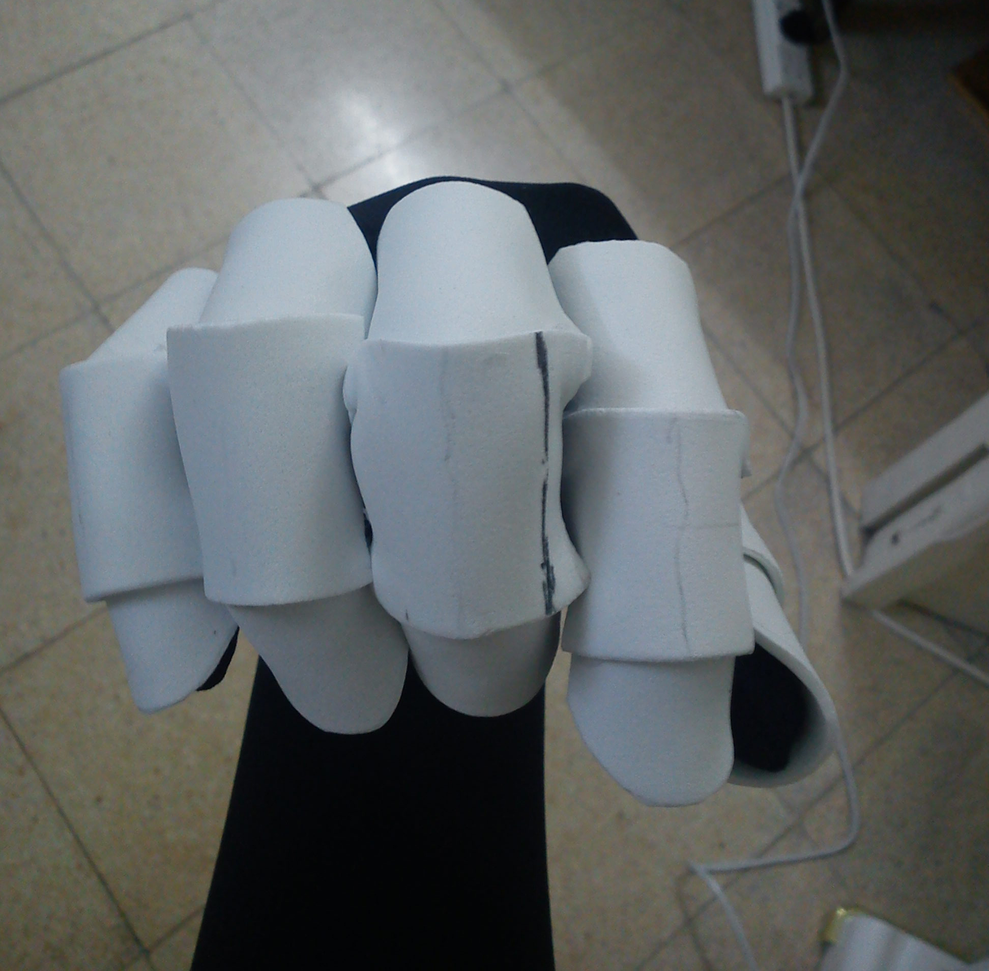 Picture of Testing the Fingers