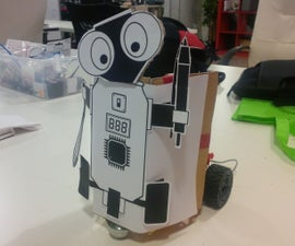 GET YOUR BOT ON : Robotics Hackathon Robot Demo