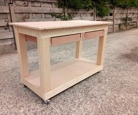 Rolling Workbench + Downdraft Table