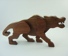 How to Make a Prehistoric Wood Toy on a Scroll Saw
