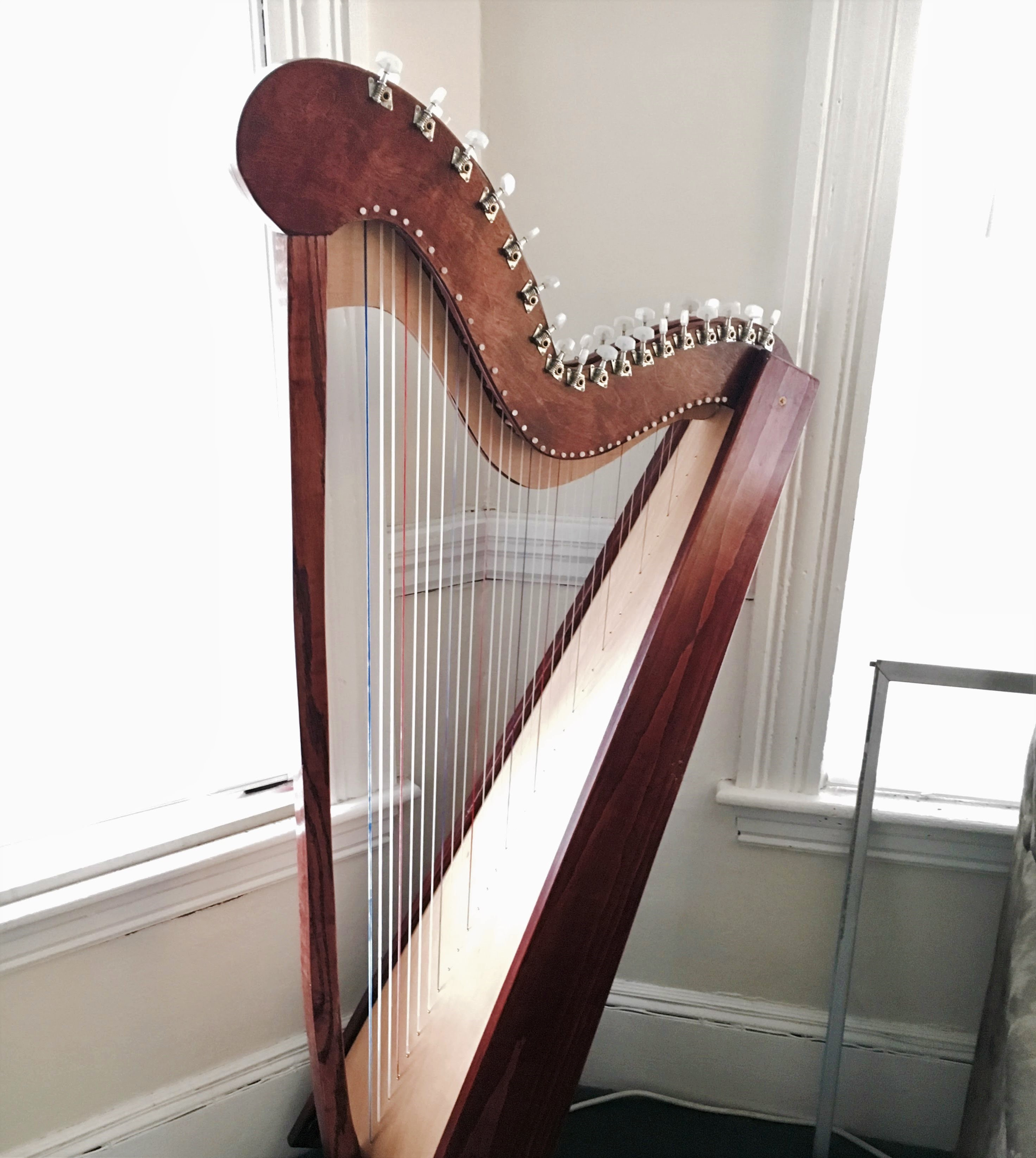 Picture of Building a 35 String Paraguayan Harp
