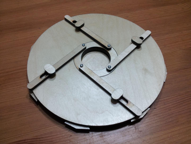 Picture of Simple Vault Mechanism