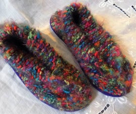 Easy Cozy Slippers