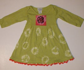 Tie Dyed PEACE Dress to Salsa music