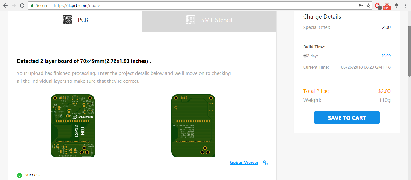 Picture of Ordering PCB and Solder the Components