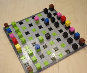 A LEGO Chess and Checkers Game