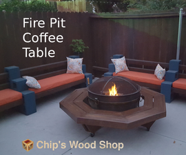 Fire Pit Coffee Table