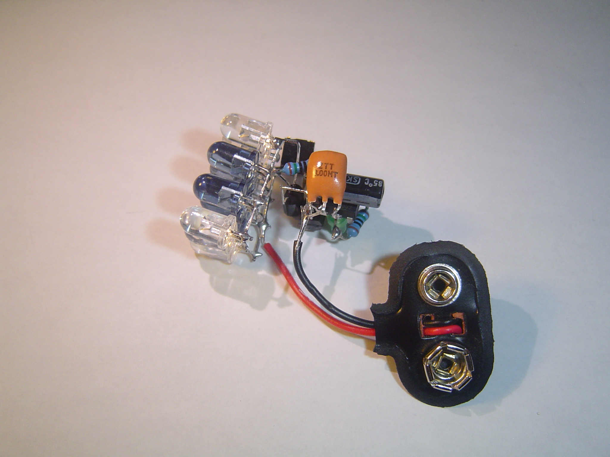 Picture of Add the 9v Battery Clip