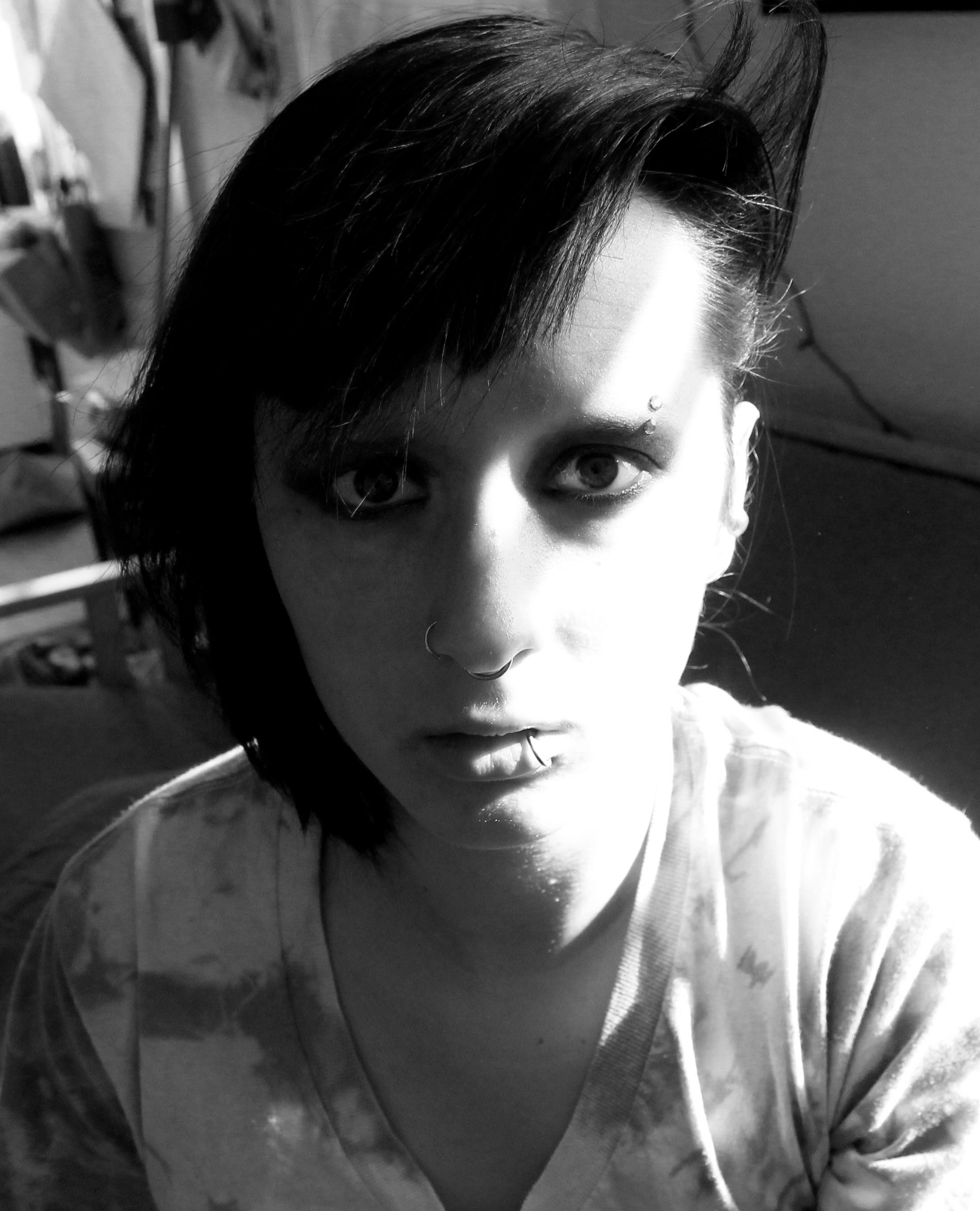 Picture of Lisbeth Salander - Girl With the Dragon Tattoo Tutorial