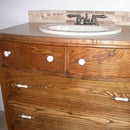 Topless Dresser With Problem Drawers - the Vanity