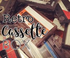 Retro Cassette Box