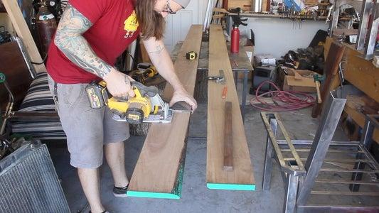 Step 6: Back Rest & Wood Finish