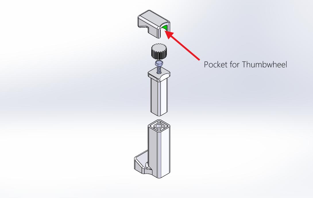 Picture of Design Details for the Adjustment Mechanism