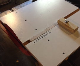 Circle Cutting Jig For Table Saw