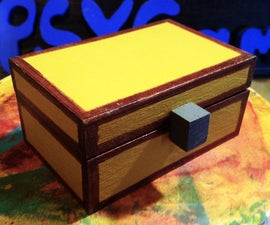Making a Wooden Minecraft Chest