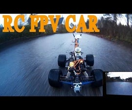 """RC Car """"Go Anywhere"""" With Live Video Feed"""