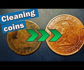 How to Clean Coins With Electrolysis