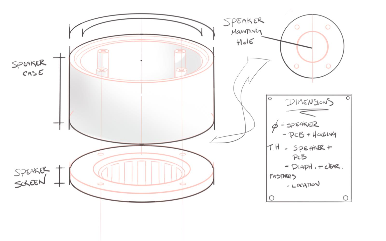 Picture of Step 4: Designing the New Speaker Case