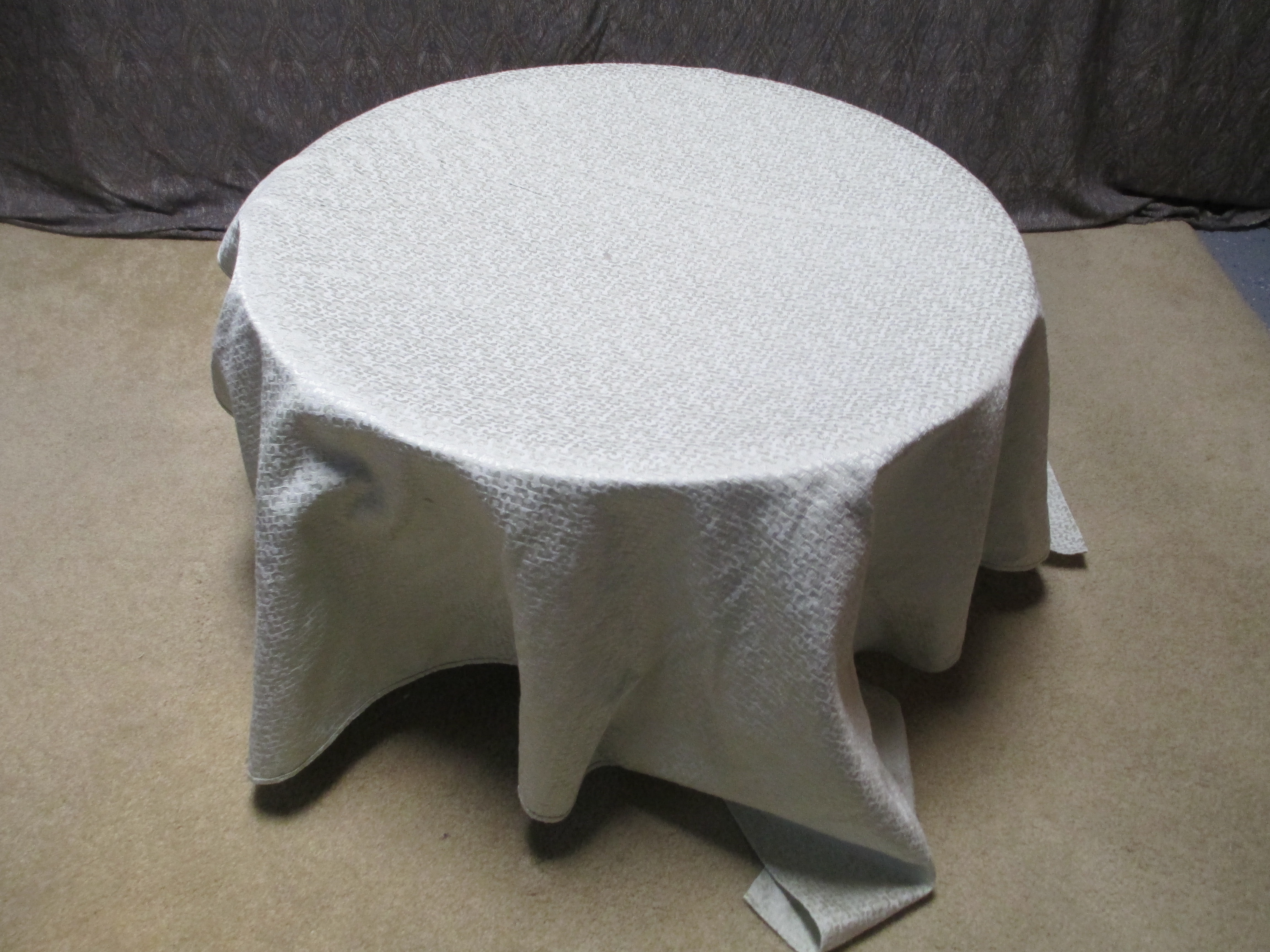 Picture of Place a Large Piece of Fabric Over the Top.