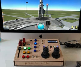 KerbalController: a Custom Control Panel for Rocket Game Kerbal Space Program