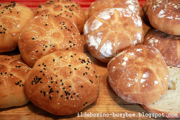 Picture of Homemade Buns for Burgers