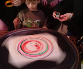 spin painting wheel