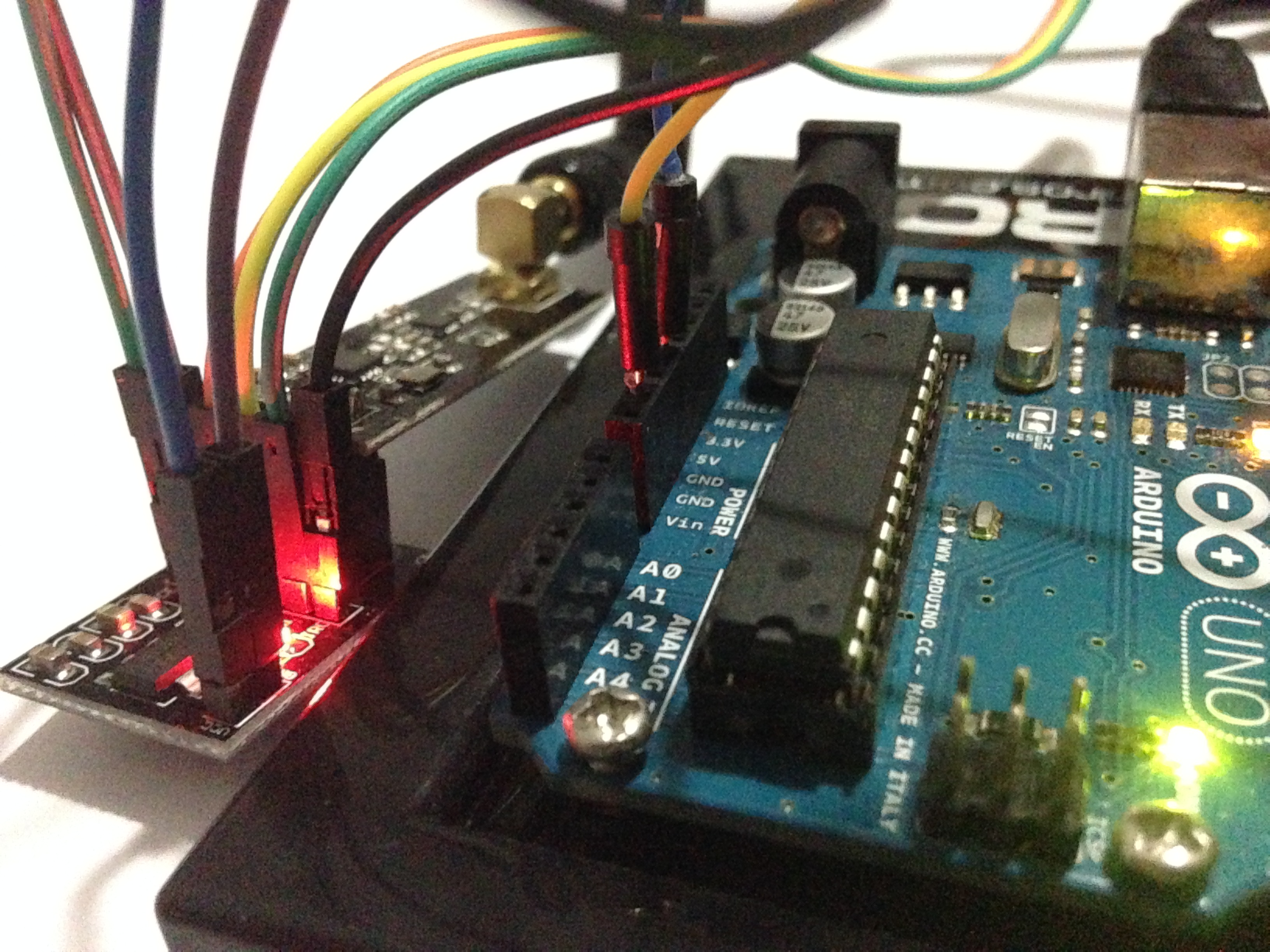 Picture of Arduino and Radio/Wireless Transceivers NRF24L01