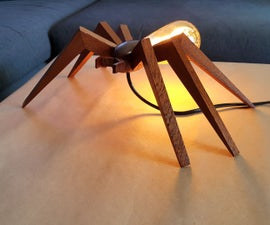 Spider Shaped Lamp