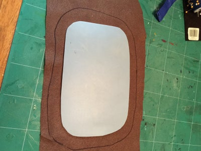 Making the Mouthpiece Back Plate.