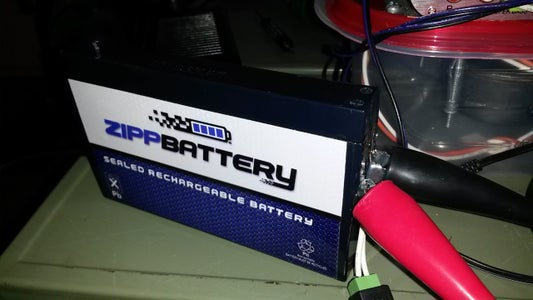 New Battery Install