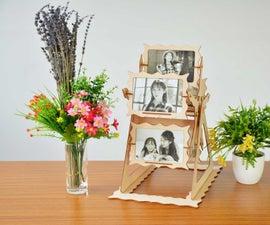 How to Make a Rotating Photo Frame