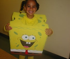 Spongebob Squarepants costume. Look just like the cartoon!