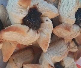 Joulutorttu, a Finnish Christmas Pastry