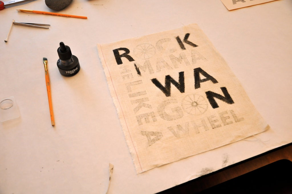 Use Freezer Paper and a Printer to Make Frame-able Art (and