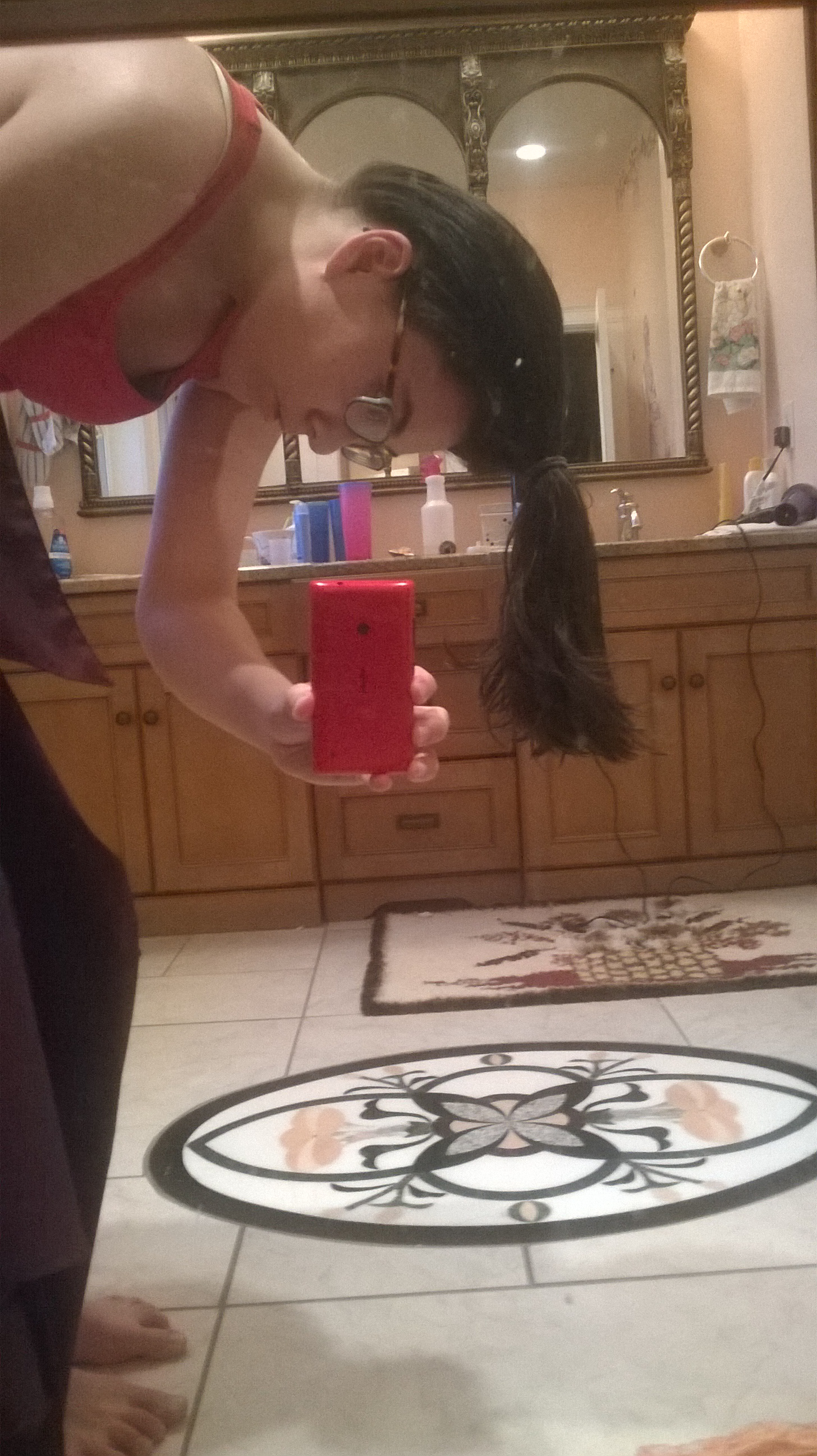 Picture of Step 3: Tie Your Hair in a Ponytail