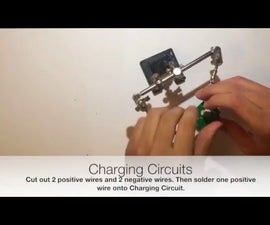 Creating a Lithium Solar USB Charger