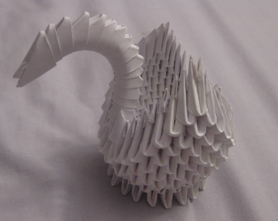 Picture of Modular Origami Swan