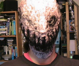 How to make a creepy latex mask, featureless face Haloween mask.