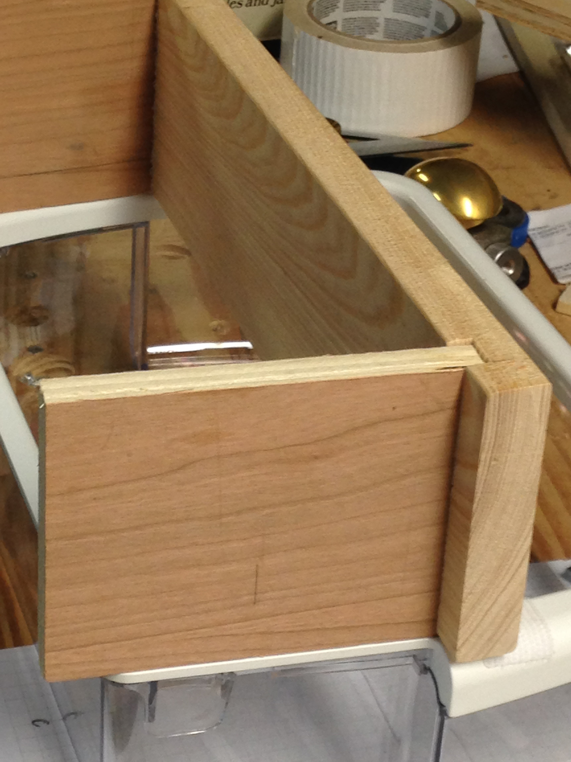 Picture of Cut the Dado, Cut Sides to Length, Cut Rear Support