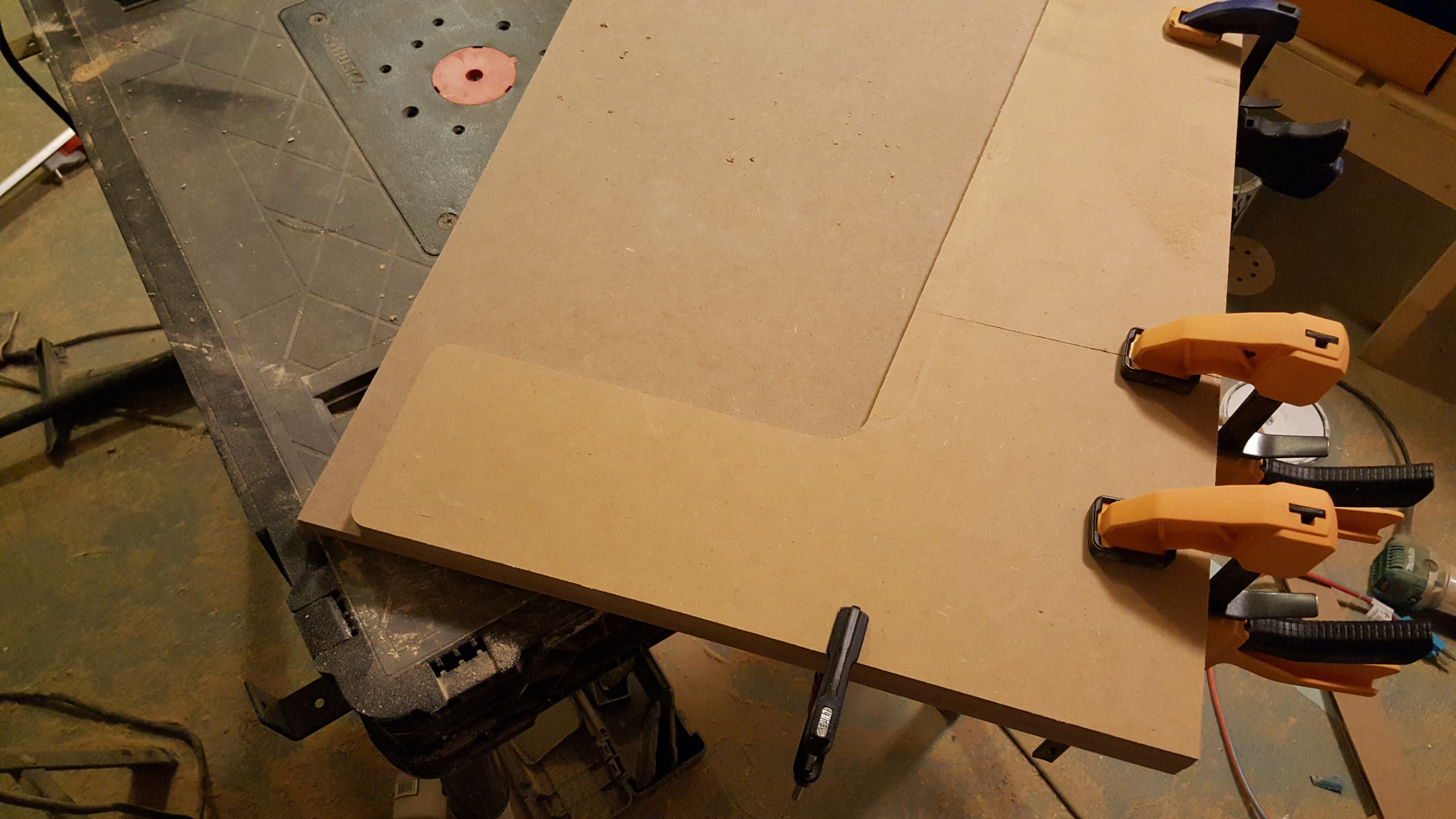 Picture of Cutting the Side Panels