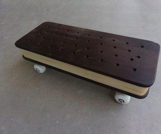 Fast Food, a Fanciful Skateboard