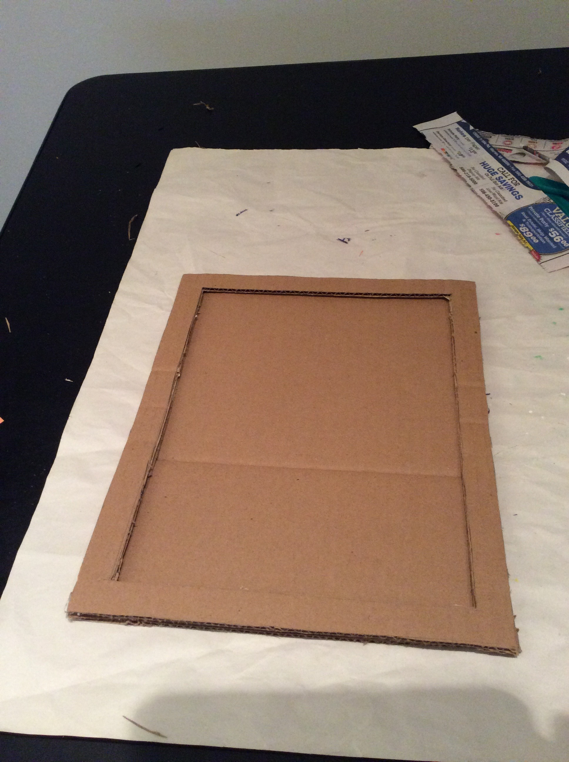 Picture of Lets See How to Do Base of Photo Frame