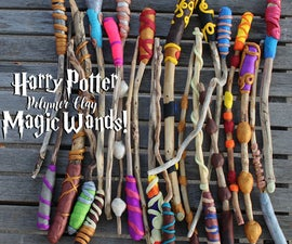 DIY Magic Wands!