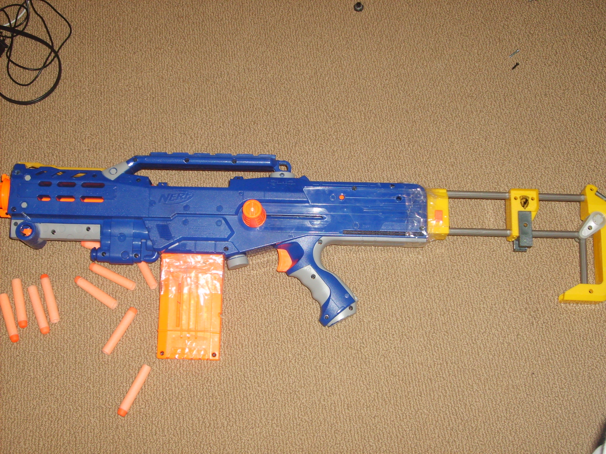 How to Mod a CS-6 Nerf Longshot: 4 Steps