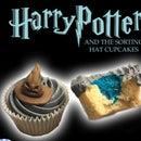 Vegan Sorting Hat Cupcakes