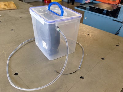 3D Printer Filament Desiccator Chamber for Hygroscopic Materials